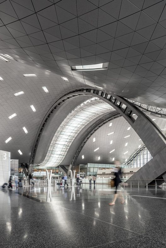 Galeria De Terminal Do Aeroporto Internacional De Hamad Hok 1 Hamad International Airport International Airport Airport