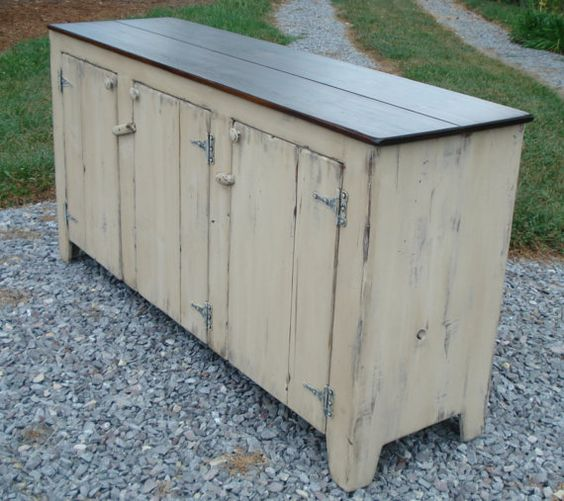 Buffet Table With Storage Underneath ~ Primitive tv stands sideboards kk furniture