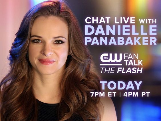 Thanks to AT&T, you can chat with Danielle Panabaker today on CW FanTalk: