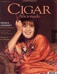 Monica Lewinsky via monica lewinsky cigar aficionado - Google Search