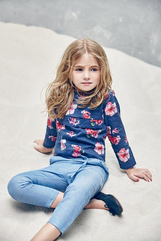 Nellystella Evelyn Shirt in Blossom Floral – The Girls @ Los Altos