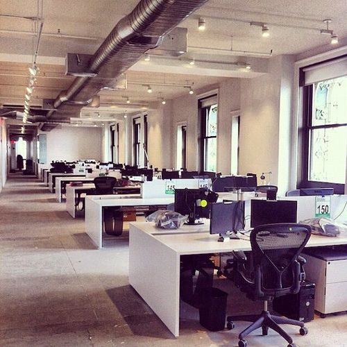 reference like this kind of open plan feel for desks but we