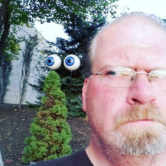 Is somebody watching me? # ZooBoo #IndyZoo