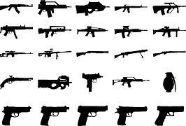 Guns, Weapons, Shotgun, Handgun, Rifle