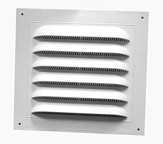 Duraflo 620808 Gable Vent 10 Inch X 10 7 8 Inch Gable Vents Air Vent Covers House Exhaust