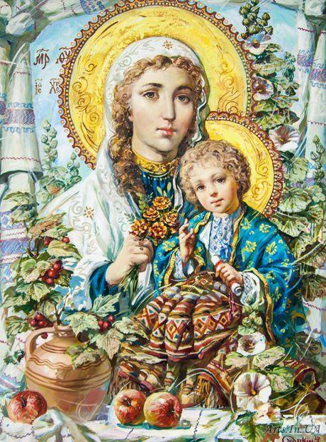 Божа Мати з малям Ісусом - Охапкин Александр:
