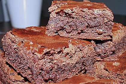 American Double Choc Brownies - Chefkoch
