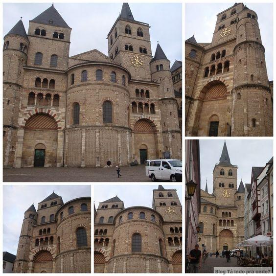 Catedral de São Pedro em Trier - Trier é uma ótima opção perto de Frankfurt para passar um fim de semana!