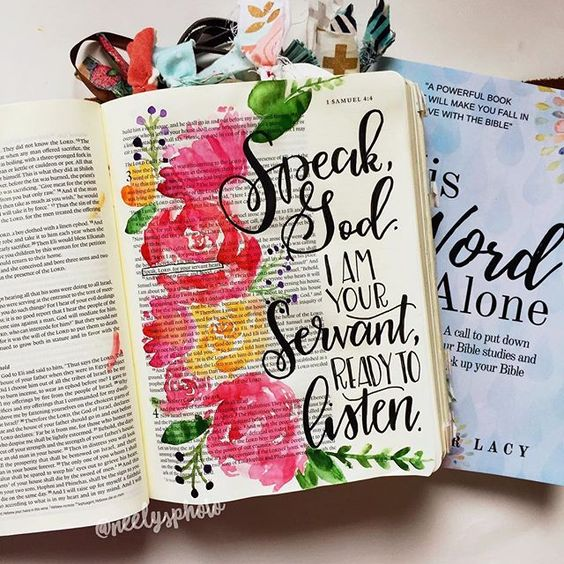 Until I started bible journaling, I can't say I ever read the bible much. Not that I didn't WANT to, but I've talked about it before, so I won't go into the why's now…but I am sure you've all been there. Once I started bible journaling and got more comfortable with the bible, I started doing bible studies. But again, if I'm honest…it's rare that I'd ever actually complete one. I'd usually get halfway through and get distracted and move on to something else. I think it's because while bible studi