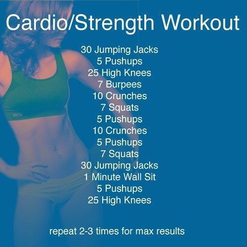 Great at home workout on a short fast results