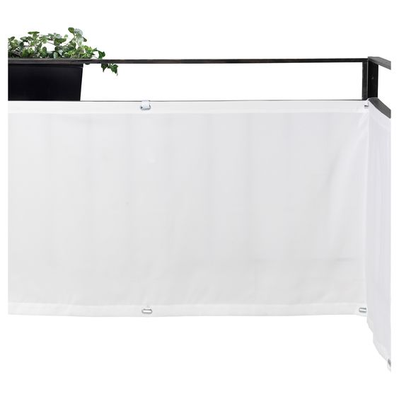 DYNING Pareventparesoleil  blanc  IKEA  Terrasse