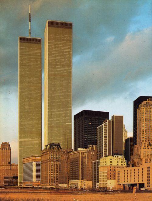 World Trade Center, New York City, United States, 1981