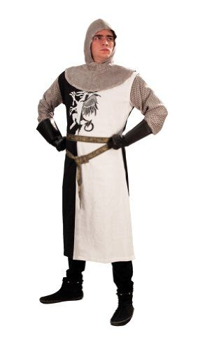 Monty Python and the Holy Grail Sir Lancelot Mens Costume - Sizes S/M and L/XL