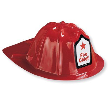 FIREFIGHTER CHAPEU AROUND TOWN
