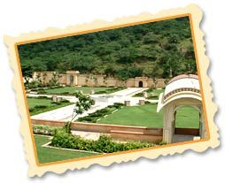 Sisodia Rani Ka Bagh10 km from Jaipur This royal garden was built by Maharaja Sawai Jai Singh in 1728 for his second queen Sisodia. Sisodia Rani Garden is adorned with beautiful wall paintings of Radha-Krishna love story. The paintings on the wall and the narrative details truly represent eternal love and befits the essence of this garden which itself is a symbol of love.Additionally, the garden breathes life to the desert soil of Jaipur.