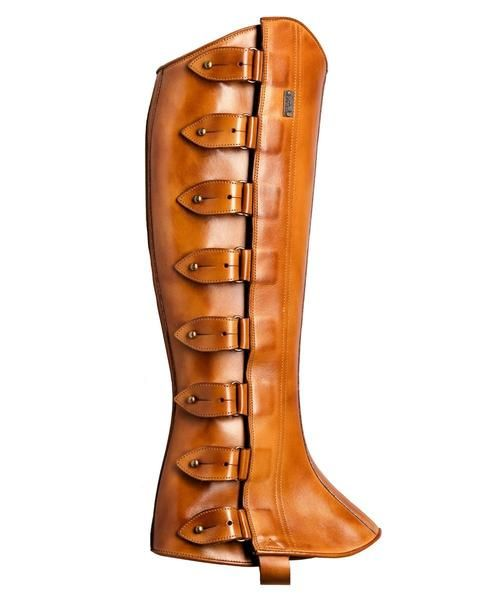 Half Chaps Polainas Tobacco Half Chaps Boots Spats Shoes