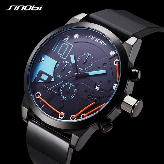 Men's Watches Luxury Sports Waterproof Watch | Luxury