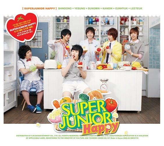 SUPER JUNIOR H – Cooking? Cooking! – The 1st Mini Album