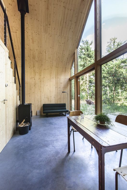 Gallery Of Indigo Atelierwoning Woonpioniers 1 Prefab Cabins House And Home Magazine Tree House Interior