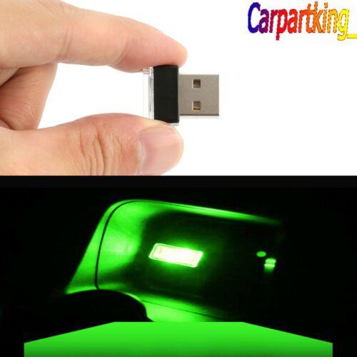 1x Orrange LED Light Mini USB Car Interior Light Neon Atmosphere Ambient Lamp