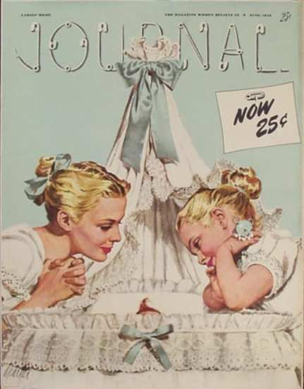Ladies Home Journal June 1946 Artist: A Parker