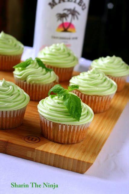Mojito Cupcakes... Looks so good!!