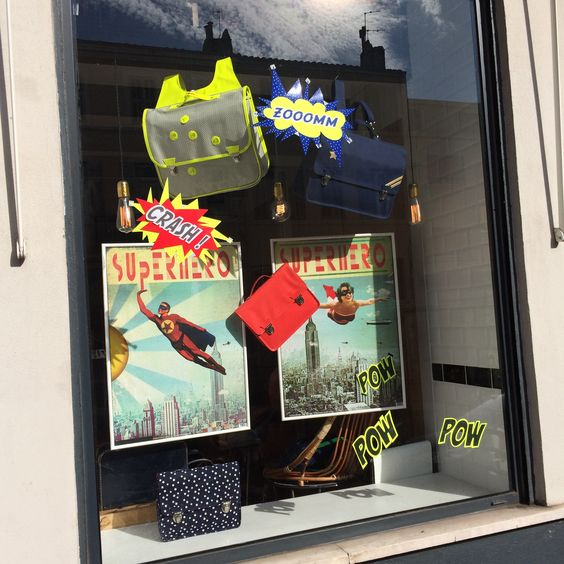 New Shop Window in September 2014 at the Miniséri Boutique in Marseille