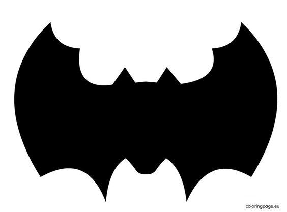 bat-template-to-cut-out Halloween Pinterest Bat template - bat template
