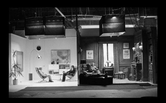 Annie Hall's split-screen was not a split-screen: it was a split set.