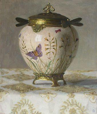 """Olga Antonova    """"Art Deco Vase"""""""