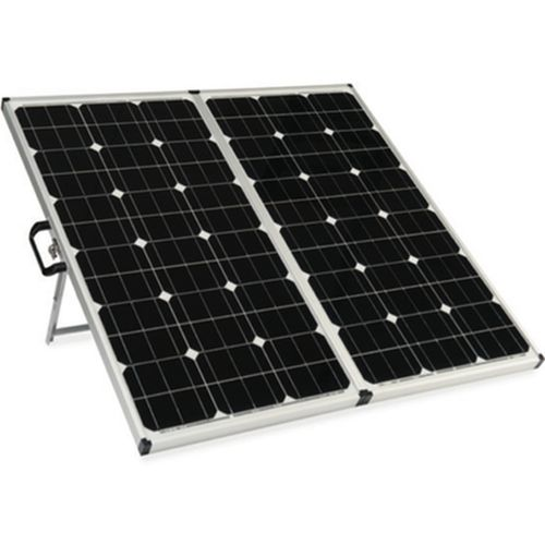The Zamp Folding 160w Solar Panel Is The Mack Daddy Of All Portable Solar Panels Capable Of Pushing Out Solar Panels Portable Solar Panels Best Solar Panels