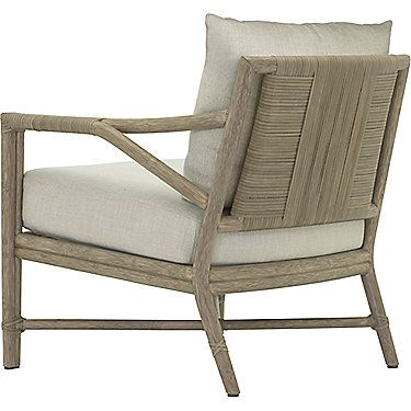 McGuire Furniture: Alameda Lounge Chair: A-117