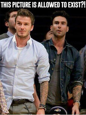 That Time David Beckham Stole His DNA Back From Adam Levine                                                                                                                                                                                 More