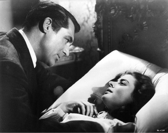 Cary Grant and Ingrid Bergman in Notorious: