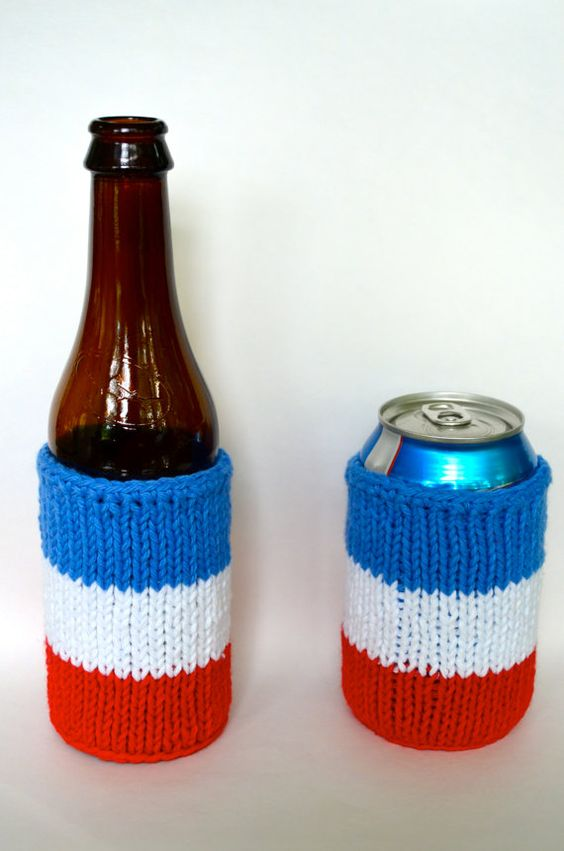 fourth of july knit fabric