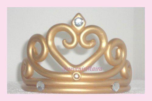 Corona princesa porcelana fr a adorno torta precio - Modelos de coronas ...