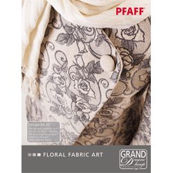 Floral Fabric Art $89.00