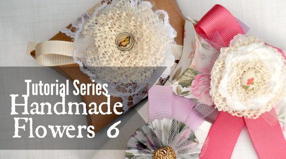 Tutorial Series: Handmade Flowers 6