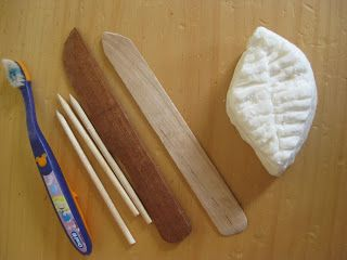 The Wonder Years: Soap Carving For Kids (Good idea for making soap carving tools that aren't knifes)