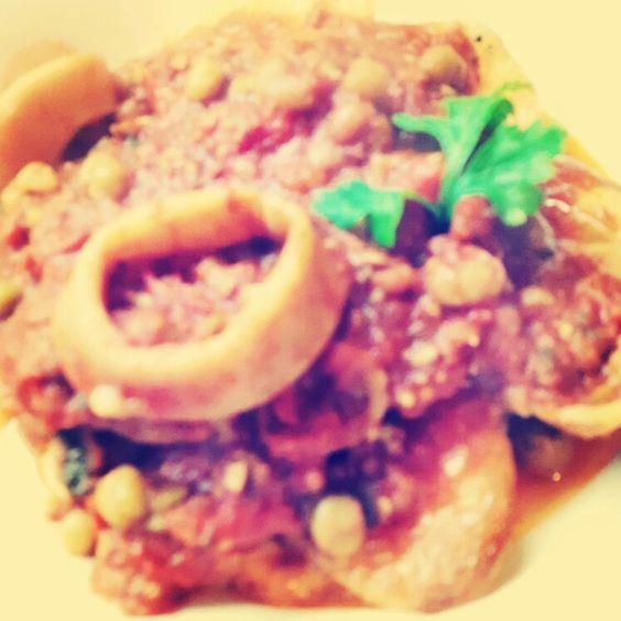 Cazuela de calamares light! Que la dieta no sea tan dura!!!