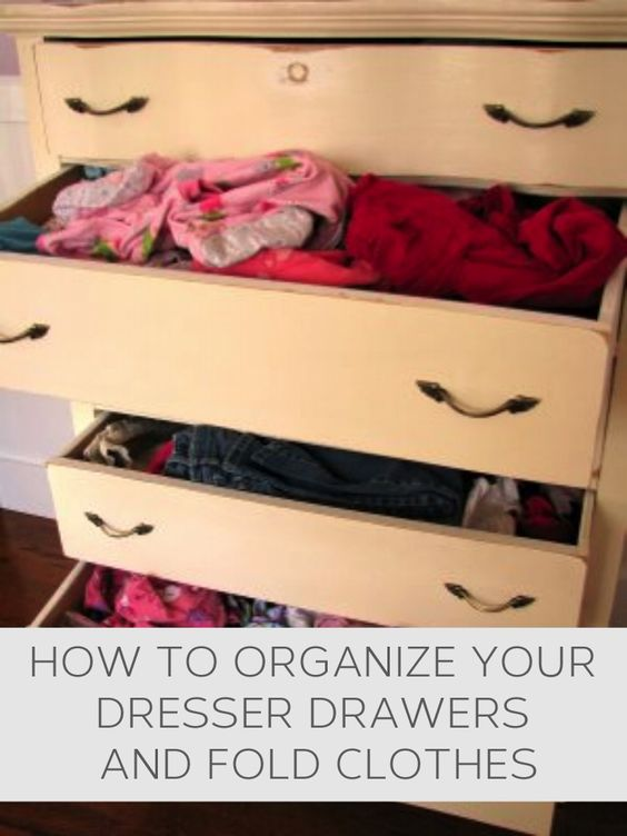 organizing drawers facts crafts and hacks pinterest useful tips drawers and clothes. Black Bedroom Furniture Sets. Home Design Ideas