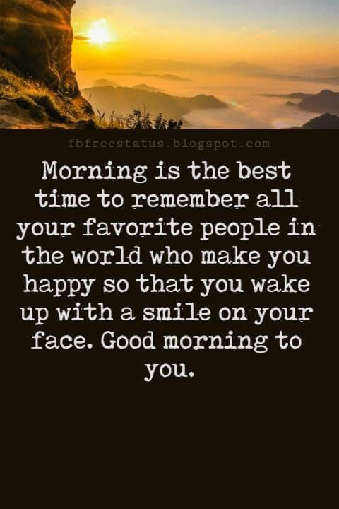 Messages text beautiful morning Good Morning