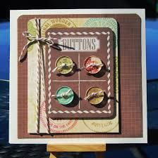 cards-made with buttons - Google Search