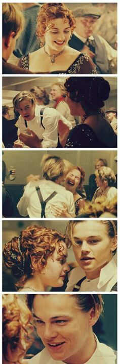 Beautiful collage of Titanic, Kate Winslet & Leonardo DiCaprio. {Jack & Rose}