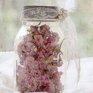 decor pote com flores