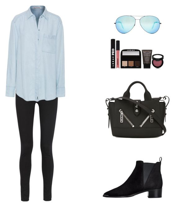 """Sydney,Australia."" by roci28 ❤ liked on Polyvore featuring Acne Studios, Victoria Beckham, Kenzo and LORAC"