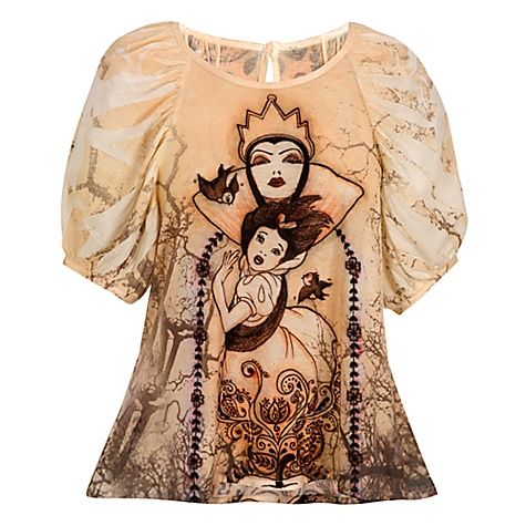 The Art of the Disney Princess Evil Queen Top by Disney Couture