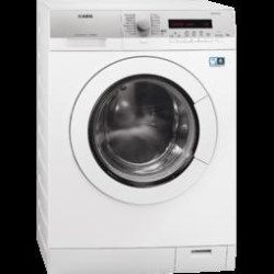 AEG L77695WD Freestanding Washer Dryer in Silver