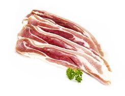 Organic Streaky Bacon, Unsmoked (250g) - Abel and Cole