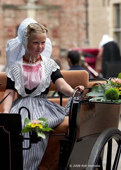 Child in Zeeland costume - The Netherlands -Walcheren